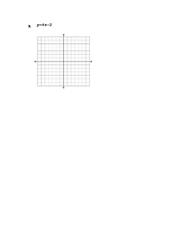 Function Practice Problems - Graphing