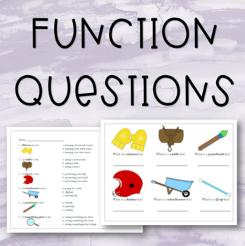Function Questions