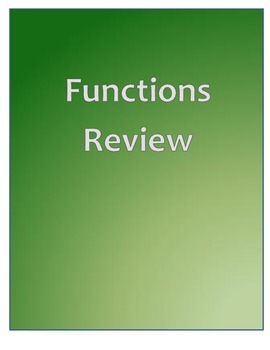 Function Review