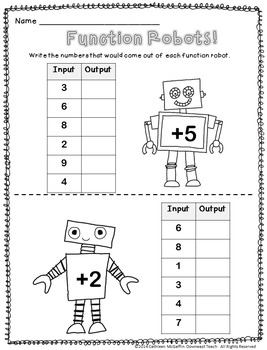 Function Robots PowerPoint & Printables