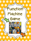 Function Rule Game