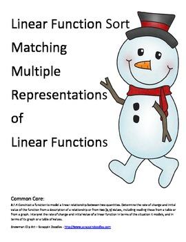 Function Sort Snowman Riddle