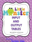 Function Table Around the Room-Addition and Subtraction-Co