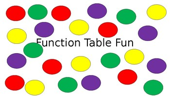 Function Table Fun