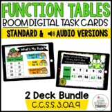 Function Table (Input/Output) Boom Cards Bundle Saint Patrick's Day Theme