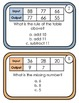 Function Table Task Cards