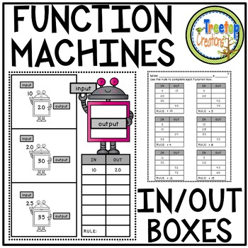Function Machines (IN and OUT Boxes)