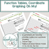 Function Tables, Coordinate Graphing Oh My!