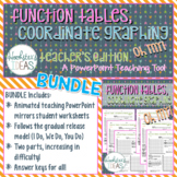 Function Tables, Coordinate Graphing Oh My! BUNDLE