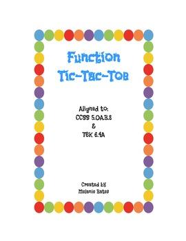 Function Tic Tac Toe