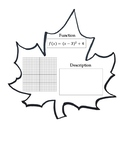 Function Transformation Autumn Leaf Pennants