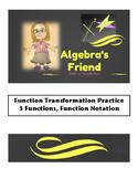 Function Transformation Practice