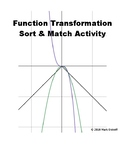 Function Transformation Sort & Match Cards