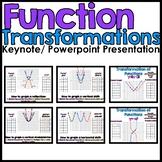 Function Transformations PowerPoint & Keynote Presentation