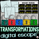 Function Transformations Digital Math Escape Room