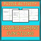 Transforming Functions Puzzle Activity