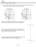 Function Unit - Algebra 2/Precalc