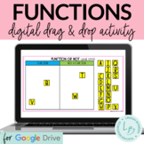 Function or Not Drag and Drop Digital Activity