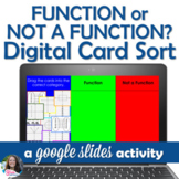 Function or Not Function Digital Card Sort using Google Sl