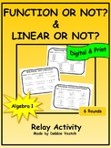 Function or Not & Linear or Non-Linear Relay | Digital - Distance Learning