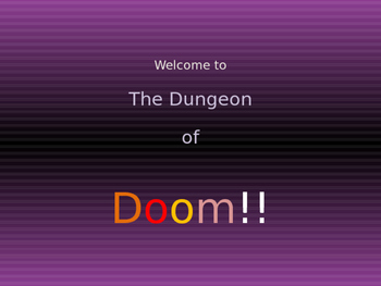 Function or Not?  Taking a daring trip through The Dungeon of Doom!!!