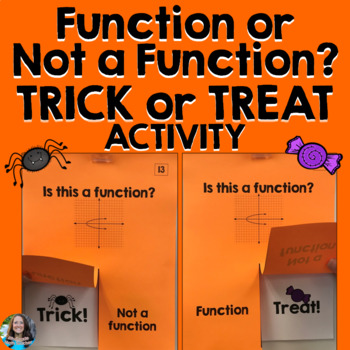 Function or Not a Function Halloween Activity (Trick or Treat)