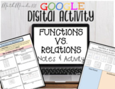 Function or Relation - Notes & Google Slides Activity