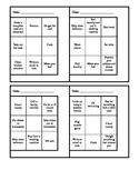 Functional Activities for Summer Work