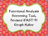 Functional Analysis Screening Tool-Revised (FAST-R) Graph Maker