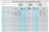 FUNCTIONAL BEHAVIOR ASSESSMENT FBA DATA FORM APPLIED BEHAV