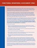 Functional Behavior Assessment Flyer from PAttan