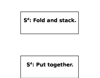 Functional Box Work Direction Cards