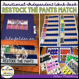 Functional Color Matching Work Box Tasks: Stocking Pants o