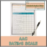 Functional Communication Rating Scale - AAC