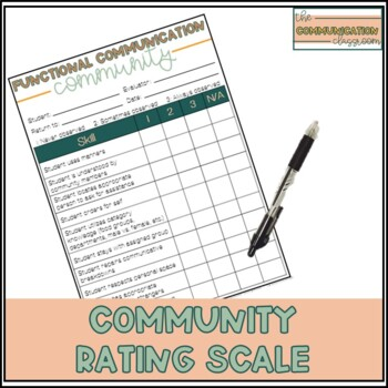 Functional Communication Rating Scale - Community Skills