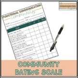 Functional Communication Rating Scale - Community Skills