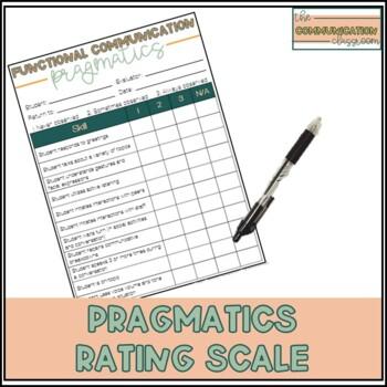 Functional Communication Rating Scale - Pragmatics