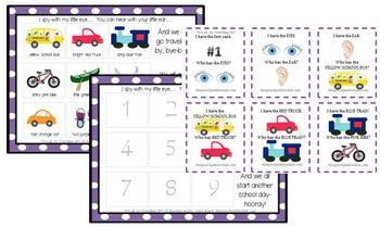 Functional Communication Song & Story Boards - August