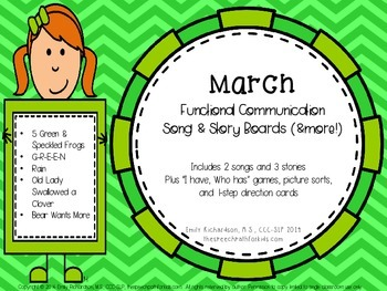 Functional Communication Song & Story Boards - March