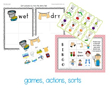 Functional Communication Song & Story Boards - SPRING Bundle