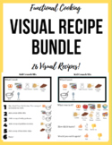 Functional Cooking Activities BUNDLE (26 visual recipes!)