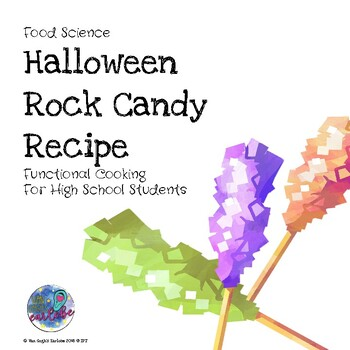 Functional Cooking Halloween Rock Candy Recipe