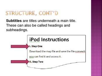 Functional Document Basics