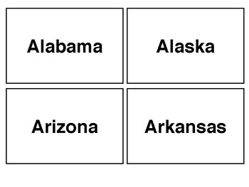 Functional Fluency Cards: Geography