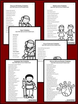 Foldables ~ Functional Folding Fun! Flip-Flap Books And Elementary Lapbooks!
