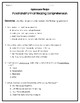 Functional Format Text Applesauce Recipe and Activities