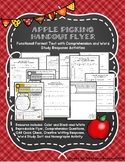 Functional Format Text Apple Picking Handout Flyer