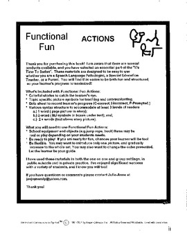 Functional Fun Actions