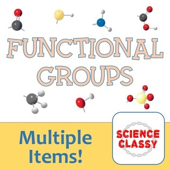 Identifying Major Functional Groups in Biological Molecules