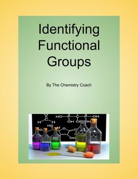 Functional Groups Identification Chart